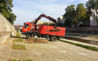 CLEANING THE PATH OF ONYAR RIVER